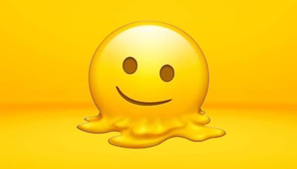 ¿Sabes realmente qué es lo que significa el emoji de la cara derretida en WhatsApp? (Foto: Emojipedia)