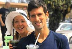 Novak Djokovic y su esposa superaron el COVID-19