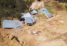 Huánuco: usan dron para estudios en zona de emergencia en Sillapata