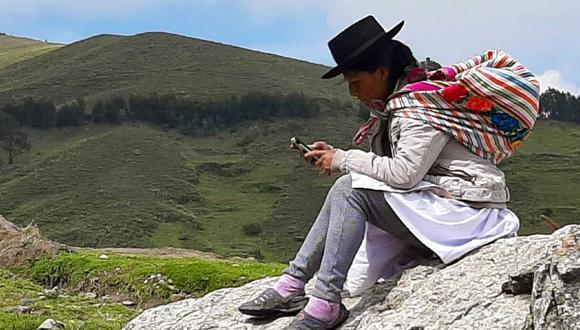 Huancavelica, Ayacucho y Apurímac son las regiones donde registró un mayor crecimiento en el uso de internet móvil durante la cuarentena. (Foto MTC)