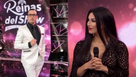 """Santi Lesmes cuestiona a Allison Pastor tras su renuncia a Reinas del Show: """"Es una falta de respeto"""". (Foto: GV Producciones/ Captura de video)"""