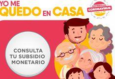 Consulta AQUÍ si recibirás BONO de 380 soles de cuarentena por coronavirus en Perú