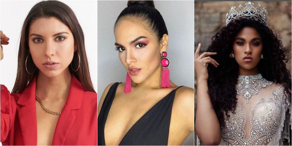 Mikella Callegari, hija de Fiorella Rodríguez, entre las candidatas del Miss Perú 2020, edición que será virtual. (Foto:((@mikellacr) / (@pamegutierrez13) / @arlette.rujel)