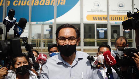 La fiscalía le imputa a Martín Vizcarra la presunta recepción de coimas. (Foto: Joel Alonzo / @photo.gec)
