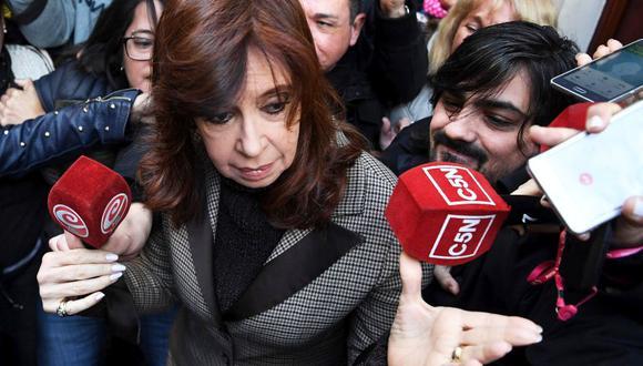 "Cristina Kirchner niega haber recibido sobornos y denuncia ""persecución"". (Foto: AFP)"