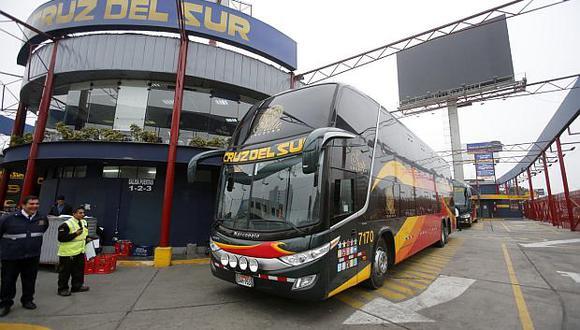 Buses iniciaron actividades a provincias, salvo a Ica, Áncash, Arequipa, Junín, Huánuco, Madre de Dios y San Martín. (Foto: GEC)