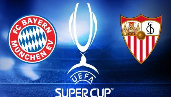 Super Copa: Bayern Munich vs Sevilla.