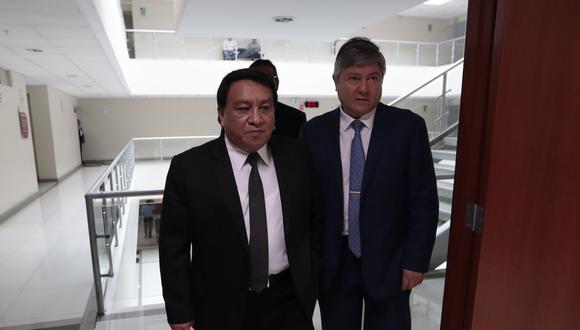 José Luna Gálvez participó en la audiencia virtual. Su abogado anunció que apelará (Foto: Grupo El Comercio)