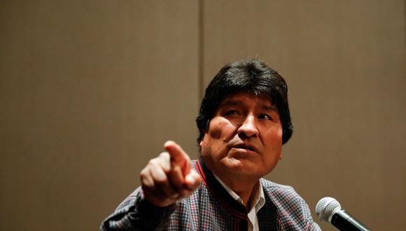 """Desde México, el exmandatario boliviano dijo que cuenta con """"dos informes técnicos de instituciones serias"""" que demostrarían que su reelección no fue fraudulenta. (Reuters)"""