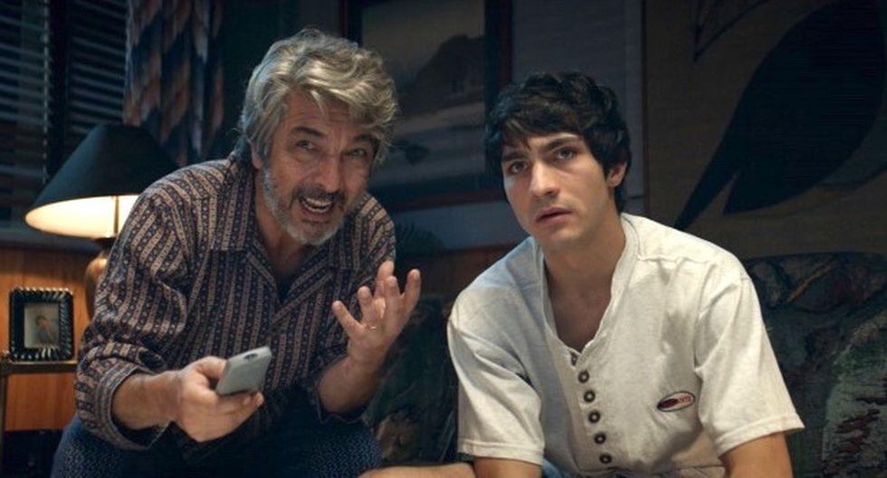 Ricardo Darín y su hijo 'Chino'. (Foto: Difusión)