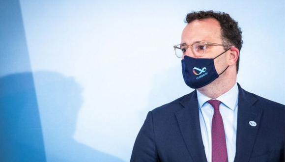El ministro de Salud de Alemania, Jens Spahn, explicó los detalles del plan que durará hasta el 2026. (EPA).