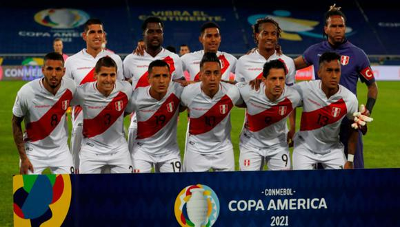 La selección peruana culminó cuarta en la Copa América 2021 por detrás de Colombia, Brasil y Argentina | Foto: EFE