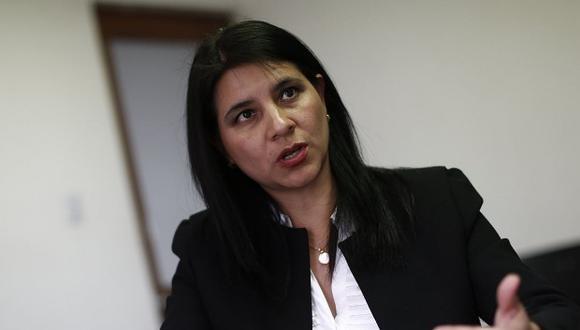 La procuradora ad hoc del caso Lava Jato, Silvana Carrión, respaldó al Equipo Especial del Ministerio Público. (Foto: GEC)