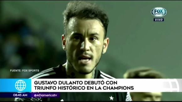 Gustavo Dulanto debutó al ganar la Champions League
