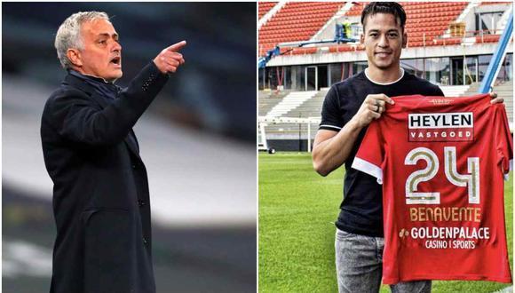 Cristian Benavente se medirá a José Mourinho en la Europa League. (Foto: AFP / @official_rafc)