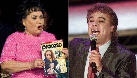 Carmen Salinas confiesa que Juan Gabriel tuvo una relación con una de sus hermanas. (Foto: AFP)