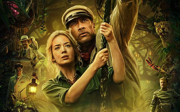 """Dwayne Johnson y Emily Blunt son los protagonistas de """"Jungle Cruise"""". (Foto: Disney)"""