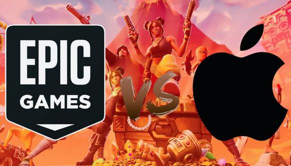 Epic Games / Apple. (Foto: BBC)