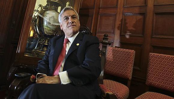 """""""Tal vez la canciller (Eda Rivas) o los agentes peruanos, particularmente el señor (José Antonio) García Belaúnde, hablan más de la cuenta"""", dijo Piñera. (Foto: Giancarlo Shibayama)"""