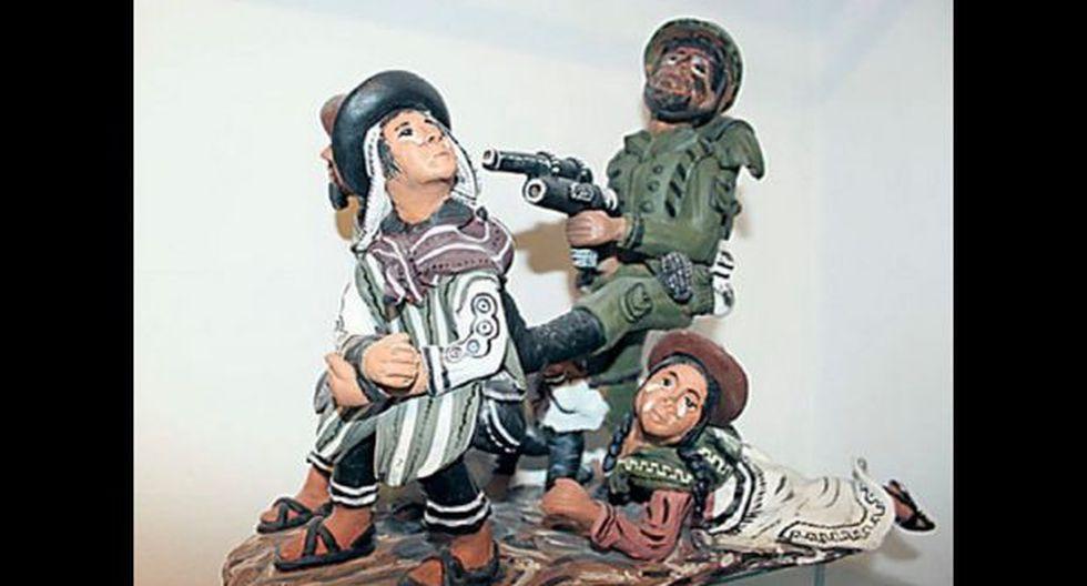 Congresistas critican esta escultura en museo de Ayacucho - 1
