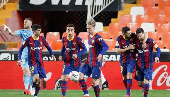 El contrato de Lionel Messi con Barcelona está a punto de expirar y buscan con urgencia su renovación. (Foto: EFE)
