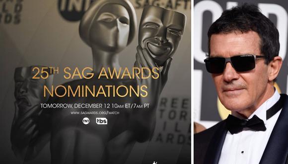 SAG Awards: Antonio Banderas, Michael Douglas y otras estrellas se unen a la gala como presentadores  (Foto: AFP/Facebook)