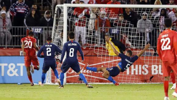 Edison Flores marcó el empate de la selección peruana ante Estados Unidos en partido amistoso. (Reuters)