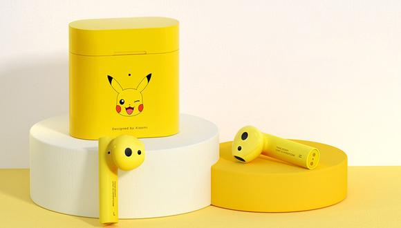 Conoce cómo poder obtener los nuevos audífonos de Pikachu de Xiaomi. (Foto: Xiaomi)