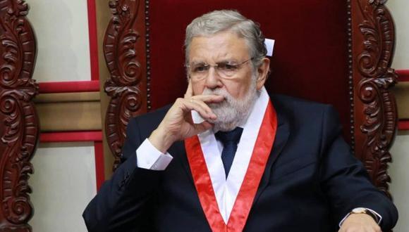 Ernesto Blume también justificó el retiro del Tribunal Constitucional del Consejo para la Reforma del Sistema de Justicia. (Foto: GEC)