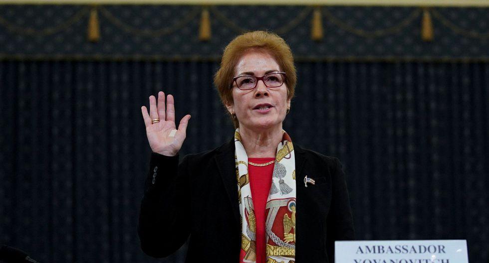 Impeachment a Donald Trump  | Embajadora destituida de Ucrania  Marie Yovanovitch declara en segunda audiencia