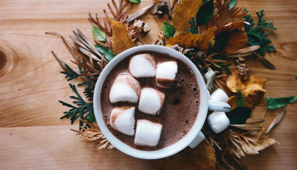 Chocolate caliente con Marshmallows. (Foto referencial. Pixabay)