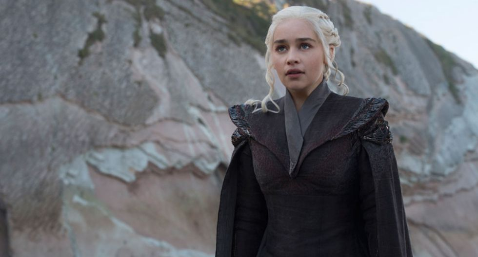 Daenerys Targaryen en la temporada. (Foto: Difusión)
