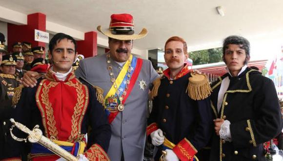 Maduro quiere que el liqui liqui sea vestido nacional en 2017