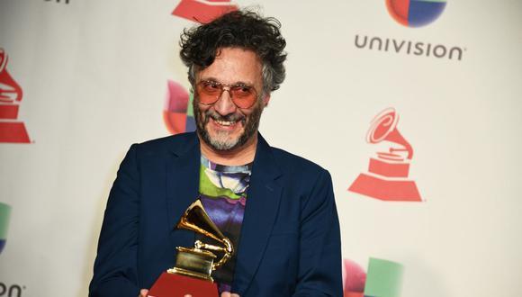 """El intérprete de """"Dar es Dar"""", Fito Páez cuenta con nueve premios Grammy Latino. (Foto de Bridget Bennett / AFP)"""