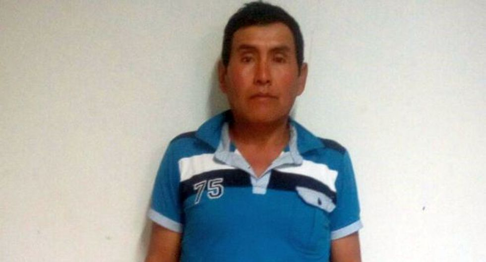 Miembros de la policía detuvieron hoy a tres requisitoriados por el delito de violación sexual contra menores de edad en Cajamarca. El primero de los intervenidos fue identificado como Mariano Monzón Ramos, de 51 años, quien era solicitado por el Juzgado Penal Colegiado Supraprovincial de Cajamarca (Foto: PNP)