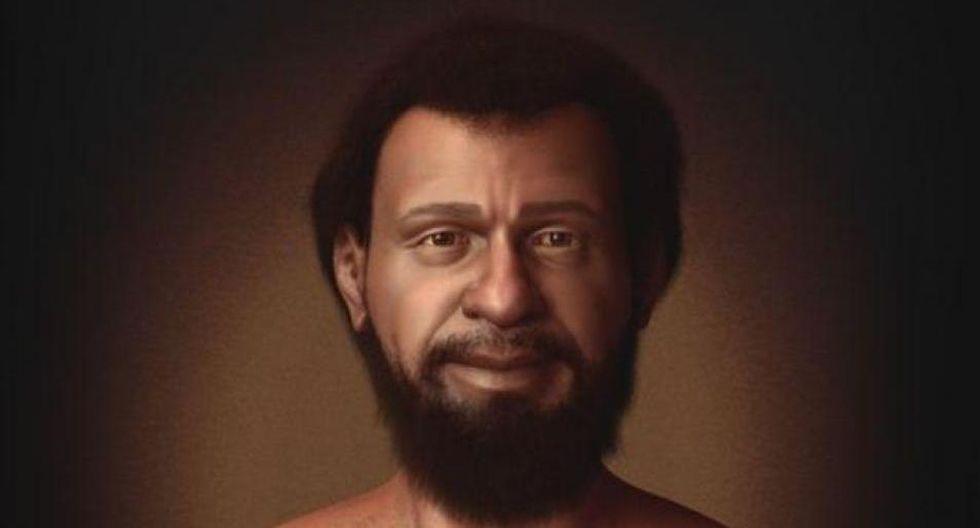 La recreación elaborada por Cícero Moraes muestra que los judíos que vivían en Medio Oriente en el siglo I tenían la piel, el cabello y los ojos oscuros. (Foto: BBC).