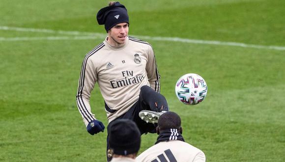 La propuesta del representante de Gareth Bale y los entrenamiento en el Real Madrid. (Foto: EFE)