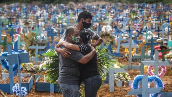 Brasil es el país de América Latina con más fallecidos por covid-19, seguido por México y Perú. (GETTY IMAGES)