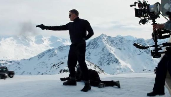 "James Bond: así se graba ""Spectre"" en Austria (Video)"