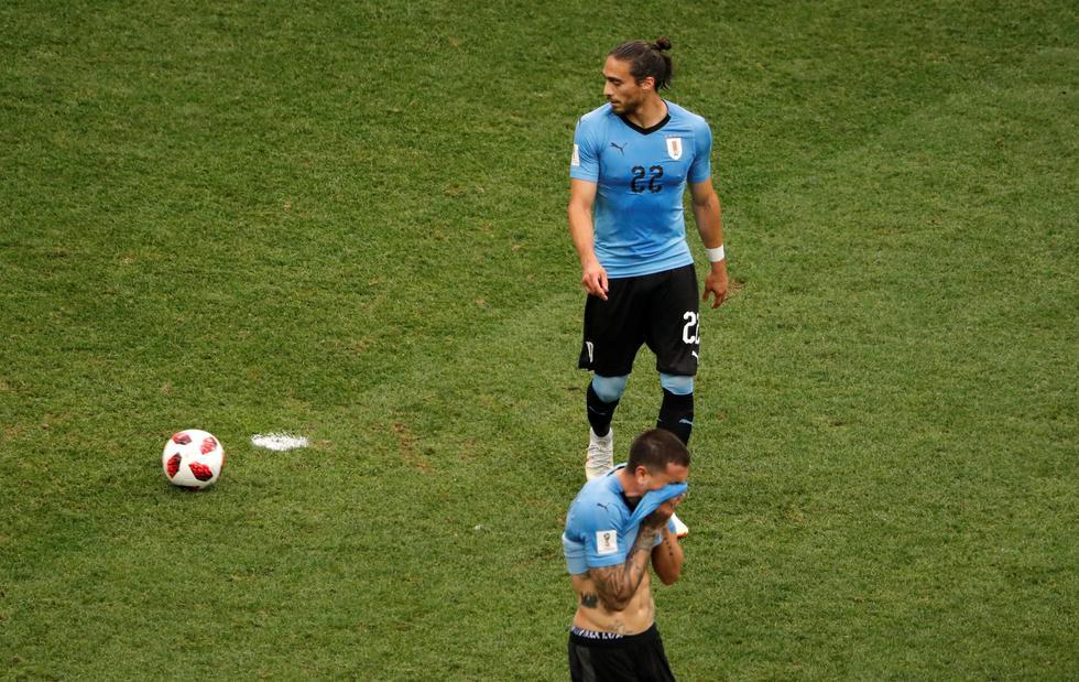 Así fue el cabezazo de Varane para el 1-0. (Foto: Reuters)