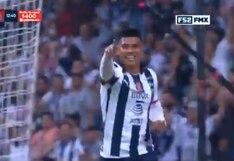 Monterrey vs. Chivas: Jesús Gallardo y el 1-0 en el BBVA Bancomer | VIDEO
