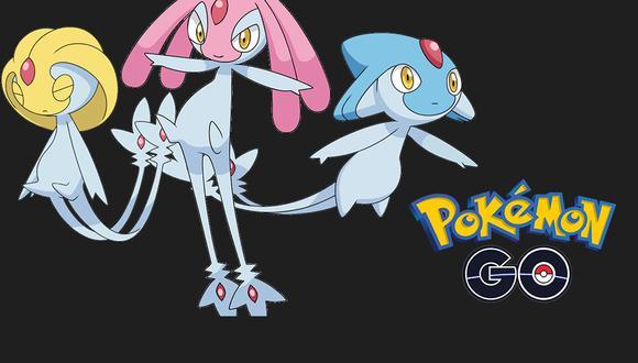 Regresan Uxie, Mespirit y Azelf a Pokémon GO en Incursiones Especiales por el Festival Acuático. (Foto: Nintendo)
