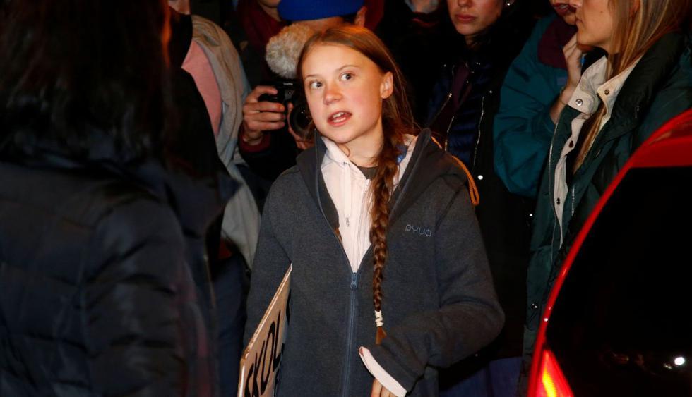 Cinco ideas claves de la rueda de prensa de Greta Thunberg en Madrid. (Foto: Reuters)