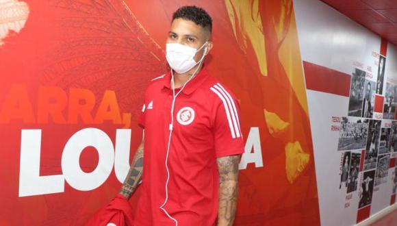 Paolo Guerrero no juega un partido oficial desde el 16 de agosto del 2020. (Foto: Inter de Porto Alegre)