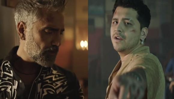 """Alejandro Fernández y Christian Nodal unen sus voces nuevamente para presentar """"Duele"""". (Foto: Captura de videol)"""
