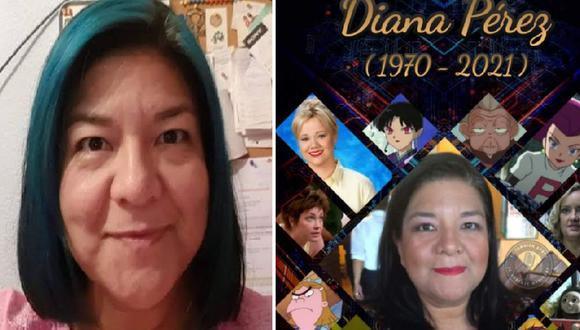 Diana Pérez, reconocida actriz de doblaje mexicana, falleció a los 51 años | Foto: @ytadobmex