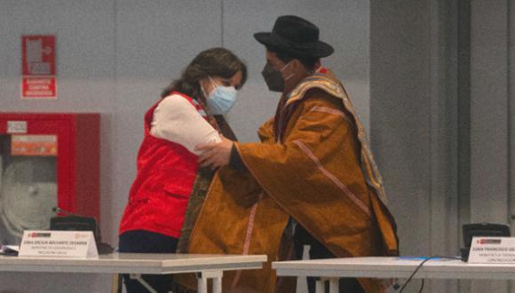 También se encargó la cartera de Desarrollo e Inclusión Social a Anahí Durand Guevara, ministra de la Mujer y Poblaciones Vulnerables, a partir del 17 de setiembre. (Foto: El Comercio)