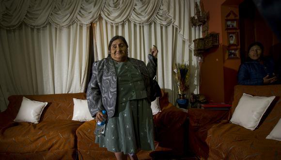 CUSCO, 4 DE OCTUBRE DEL 2013MINERIA ILEGAL EN MADRE DE DIOS, HUEPETUHE. GREGORIA CASAS HUAMANHUILLCA, CECILIO BACA FERNANDEZ, YONY BACA CASAS, MARCO BACA CASAS, JORGE DE LA SOTA.FOTO: JUAN PONCE / EL COMERCIO