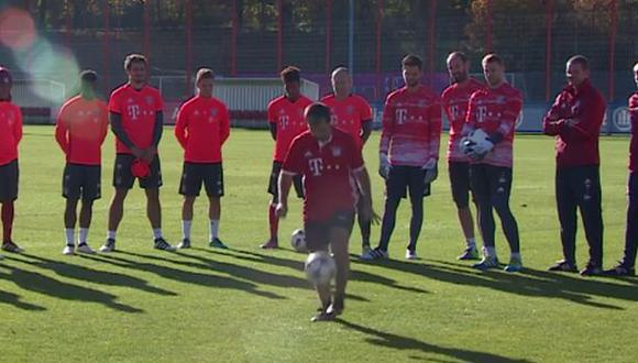 Facebook: 'freestyler' dejó absortos a jugadores del Bayern