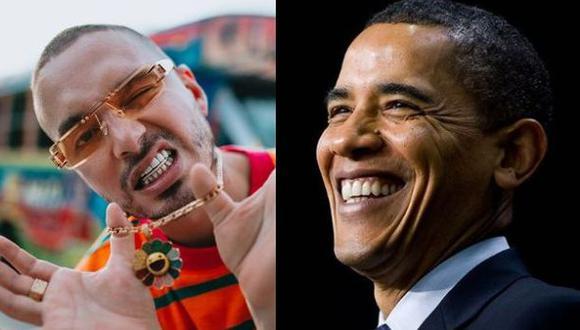 J Balvin y Barack Obama. (Fotos: Instagram)